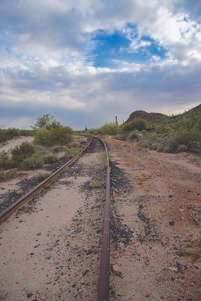 Photo of MARRCO corridor railroad tracks