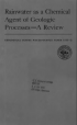 Thumbnail image of Rainwater as a Chemical Agent document cover