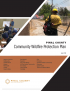 Thumbnail image of Wildfire Protection Plan document cover
