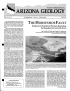 Thumbnail image of The Horseshoe Fault - Evidence for Prehistoric Surface-Rupturing Earthquakes in Central Arizona article cover with photo of Horseshoe Dam and reservoir