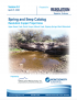 Thumbnail image of Spring and Seep Catalog report cover