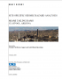 Thumbnail image of Site-Specific Seismic Hazard Analyses for Miami Tailing Dams, Claypool, Arizona report cover with photograph of Miami mining complex