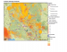 Thumbnail image of Natural Hazards in Arizona map
