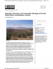 Thumbnail image of Geometry, Structure, and Concealed Lithology of the San Rafael Basin, Southeastern Arizona report cover