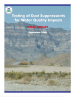 Thumbnail image of Testing of Dust Suppressants for Water Quality report cover