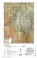 Thumbnail image of Apache Leap Tuff Water Level Contours Upper Queen Creek/Devils Canyon Study Area map