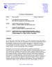 Thumbnail image of Hydrogeologic Characterization Well HRES-4: Results of Long-Term Aquifer Test memo coversheet