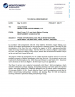 Thumbnail image of Phase II Hydrogeologic Field Investigations memo cover