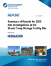 Thumbnail image of Summary of Results for 2020 Site Investigations at the Skunk Camp Storage Facility report cover