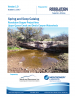 Thumbnail image of Spring and Seep Catalog report cover with photograph of water near rock outcropping