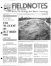 Thumbnail image of Fieldnotes bulletin first page with cover photo of flooding Santa Cruz River