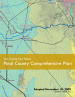 Thumbnail image of We Create Our Future: Pinal County Comprehensive Plan cover with map of Florence, Arizona area