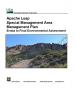 Thumbnail image of USFS ALSMA EA Errata document cover with photo of Apache Leap Escarpment