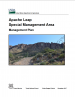 Thumbnail image of USFS ALSMA Management Plan document cover with photo of Apache Leap Escarpment
