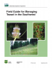 Thumbnail image of Field Guide for Managing Teasel in the Southwest cover with photos of Teasel plant