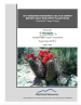 Thumbnail image of 2015 Arizona Hedgehog Cactus Survey Report East and West Plant Sites report cover