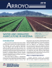 Thumbnail image of Arroyo 2018 report cover with photo of partially irrigated field