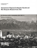 Thumbnail image of Assessment of Regional Earthquake Hazards and Risk Along the Wasatch Front, Utah document cover with photograph of downtown Salt Lake City with Wasatch Range mountains in background