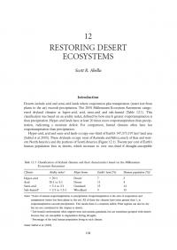 Thumbnail image of Restoring Desert Ecosystems chapter