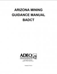 Thumbnail image of Arizona Mining Guidance Manual BADCT cover