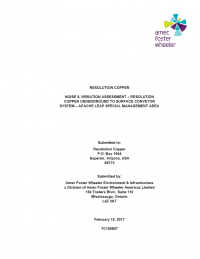 Thumbnail image of Noise & Vibration Assessment report
