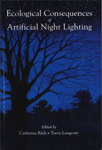 Thumbnail image of Effects of artificial lighting on terrestrial mammals book cover