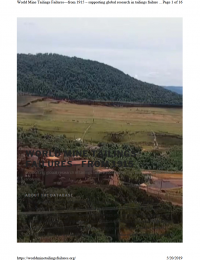 Thumbnail image of World Mine Failures Database webpage