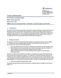 Thumbnail image of Block Cave Model memo cover