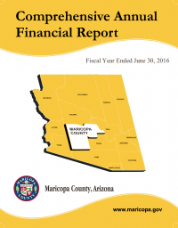 Thumbnail image of Maricopa County Financial Report cover
