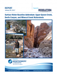 Thumbnail image of Surface Water Baseline Addendum document cover