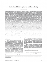 Thumbnail image of Geotechnical Risk article first page