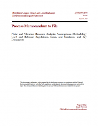 Thumbnail image of Noise and Vibration Analysis memo cover