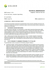 Thumbnail image of Alternative 5 - Impacts to Public Safety memo cover