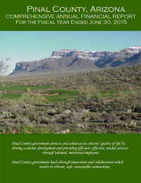 Thumbnail image of Pinal County, Arizona: Comprehensive Annual Financial Report cover