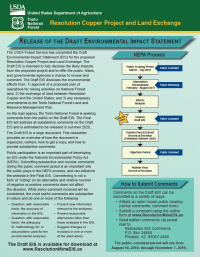 Thumbnail image of Resolution Draft EIS Newsletter first page