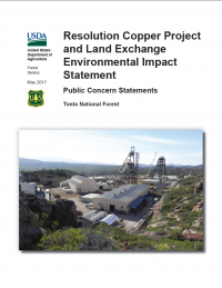 Thumbnail image of the Public Concern Statements report - May 2017