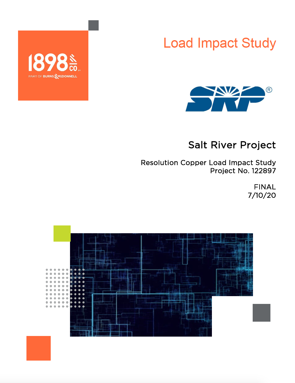 Thumbnail image of document cover: Resolution Copper Load Impact Study