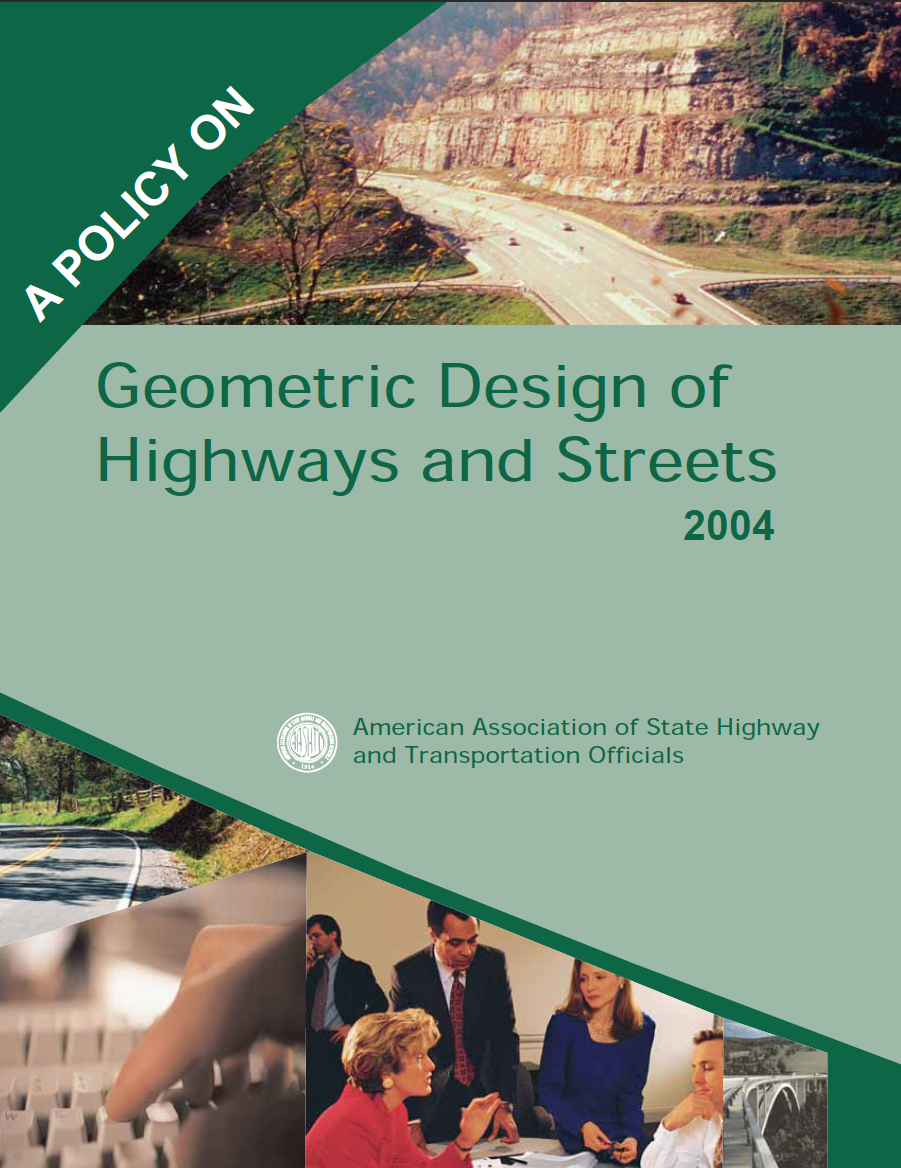 Thumbnail image of document cover: A Policy on Geometric Design of Highways and Streets