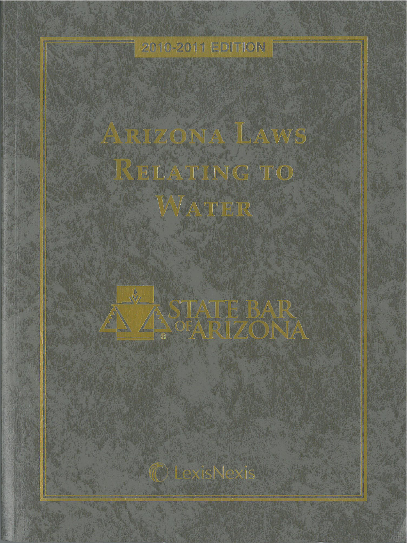 Thumbnail image of document cover: Arizona Laws Relating to Water