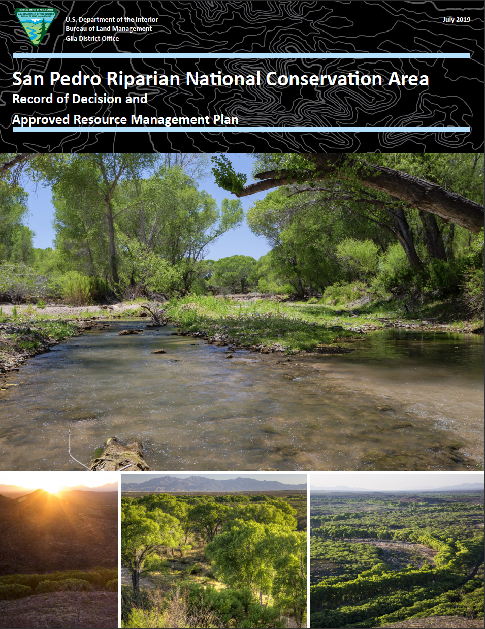 Thumbnail image of document cover: San Pedro Riparian National Conservation Area: Record of Decision and Approved Resource Management Plan