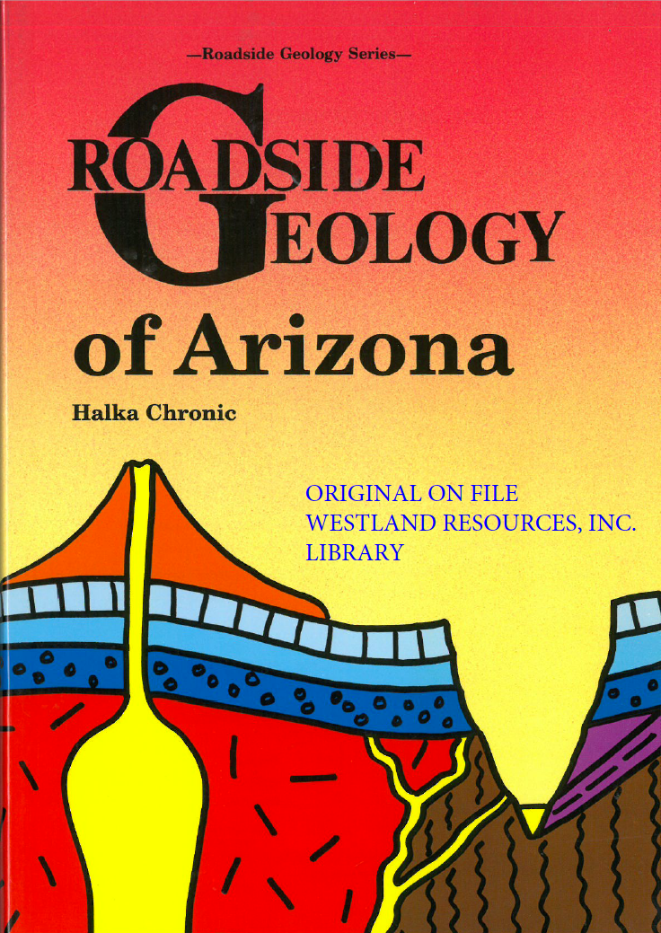 Thumbnail image of document cover: Roadside Geology of Arizona