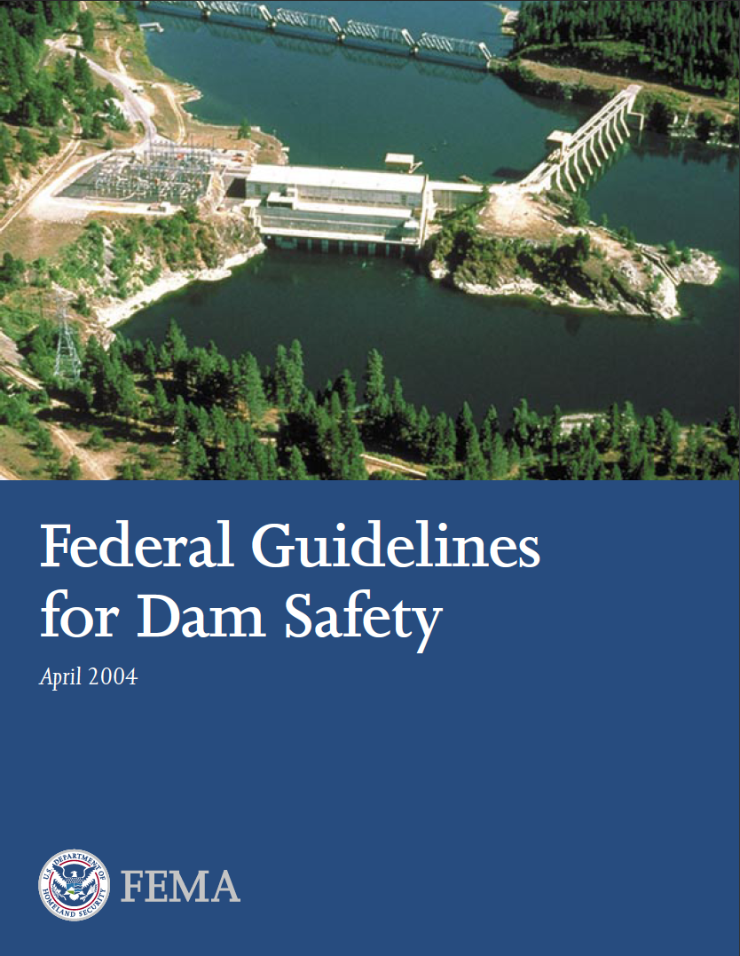 Thumbnail image of document cover: Federal Guidelines for Dam Safety