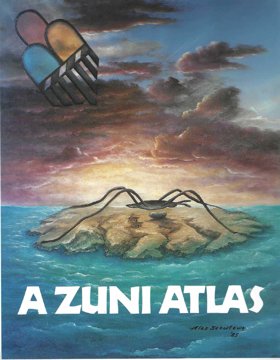 Thumbnail image of document cover: A Zuni Atlas