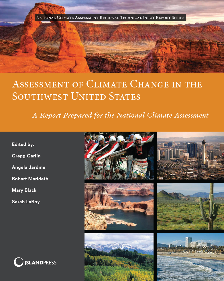 Thumbnail image of document cover: Assessment of Climate Change in the Southwest United States: A Report Prepared for the National Climate Assessment