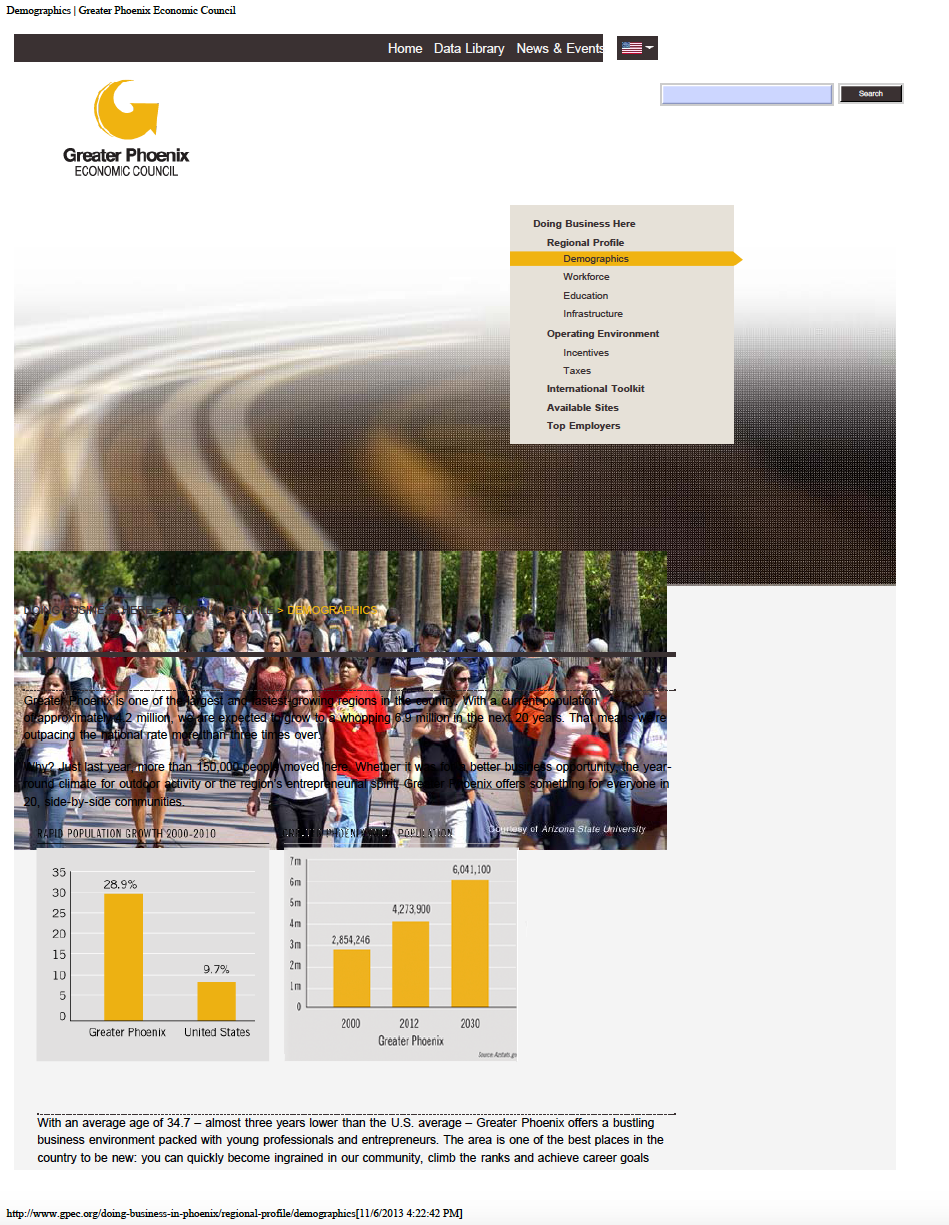 Thumbnail image of document cover: Regional Profile Demographics
