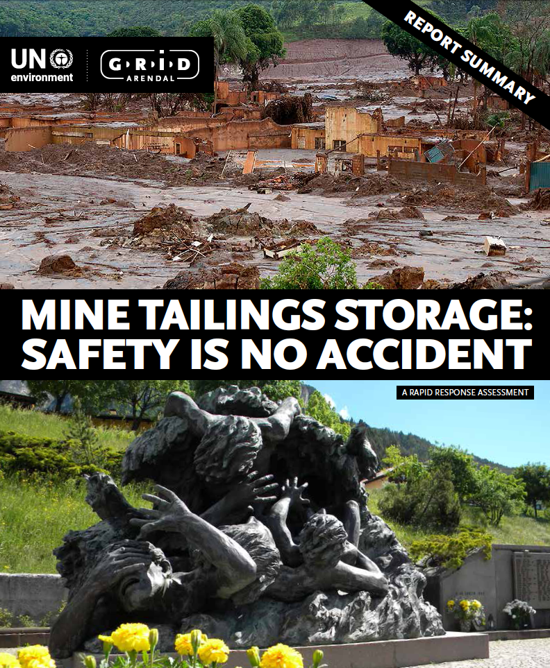 Thumbnail image of document cover: Mine Tailings Storage: Safety is No Accident