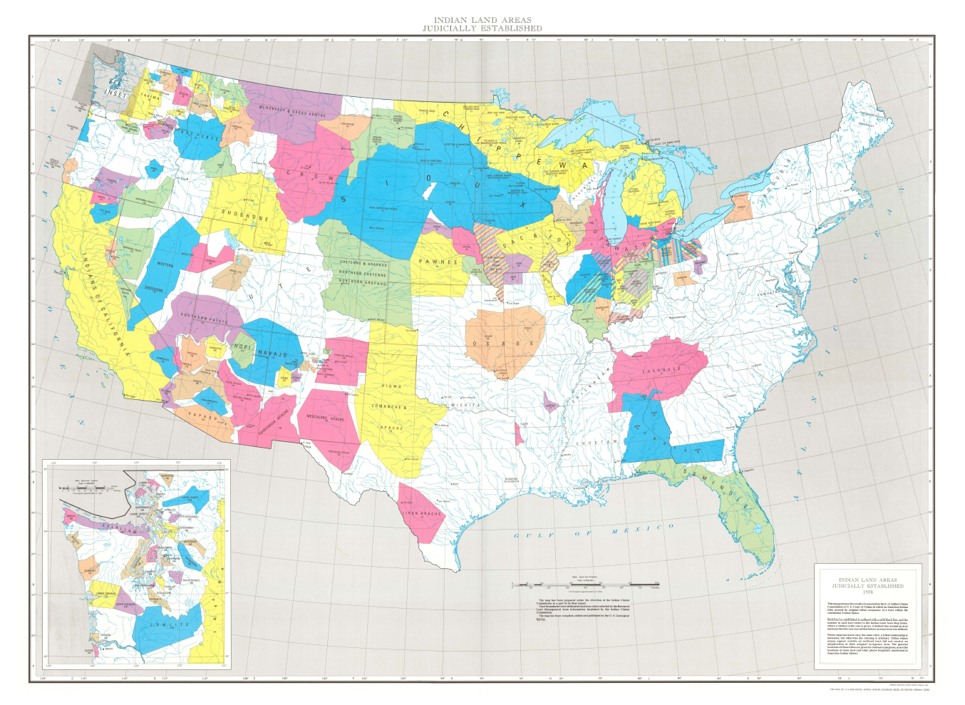 Thumbnail image of document cover: Indian Land Areas Judicially Established