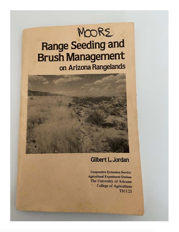 Thumbnail image of document cover: Range Seeding and Brush Management on Arizona Rangelands