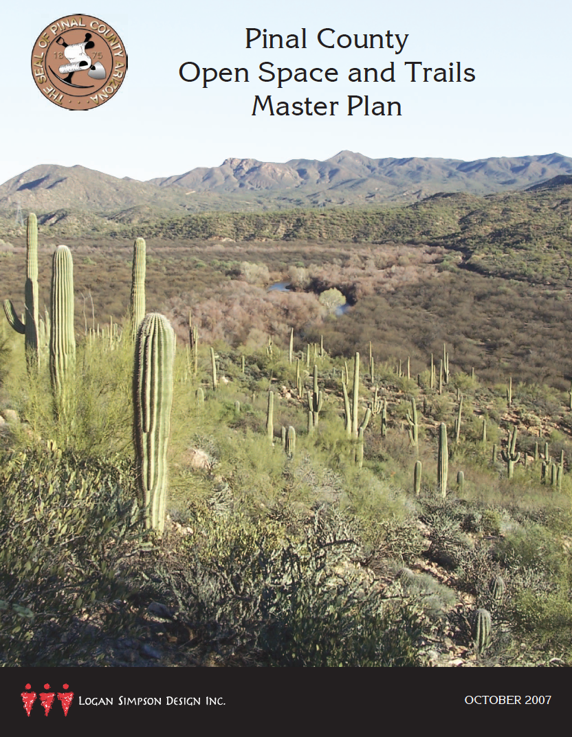 Thumbnail image of document cover: Pinal County Open Space and Trails Master Plan