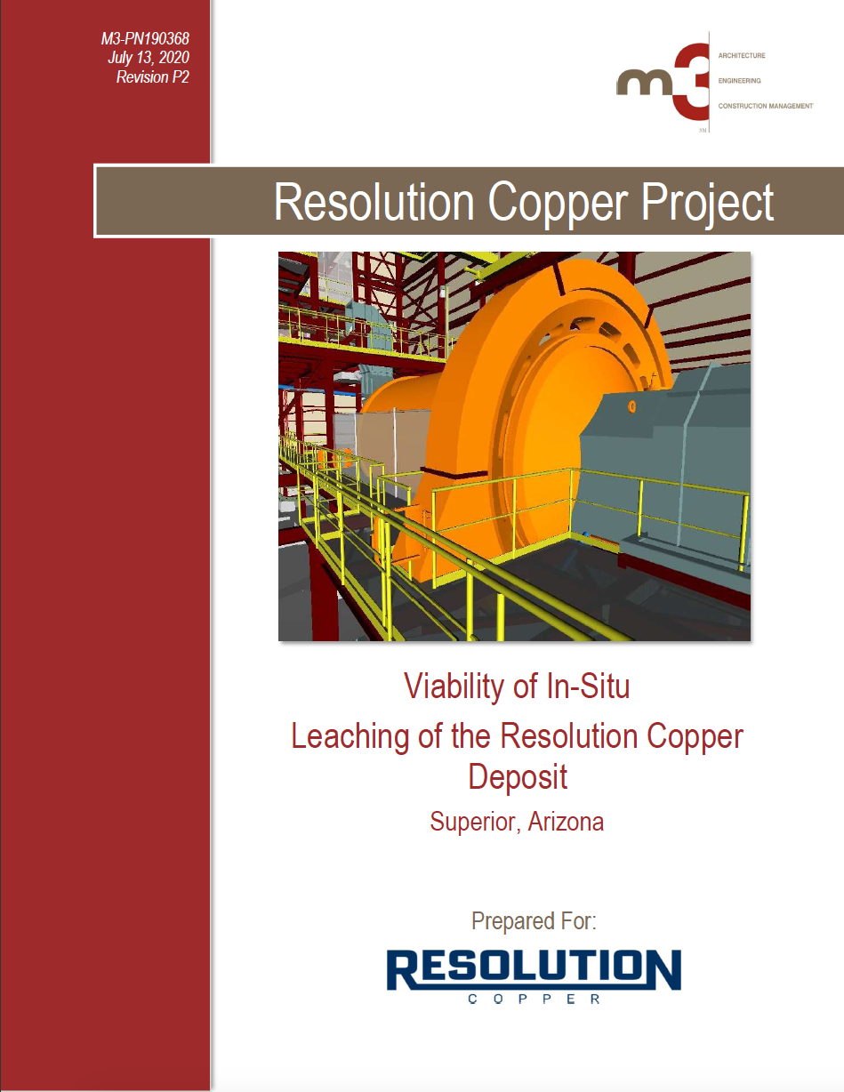 Thumbnail image of document cover: Viability of In-Situ Leaching of the Resolution Copper Deposit, Superior, Arizona